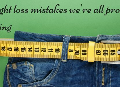 Weight loss mistakes we're all prone to making TheFuss.co.uk