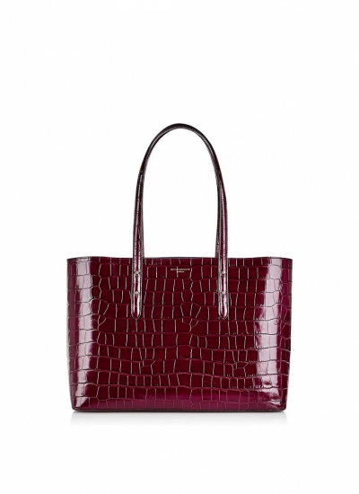 Aspinal Of London Regent Croc Tote