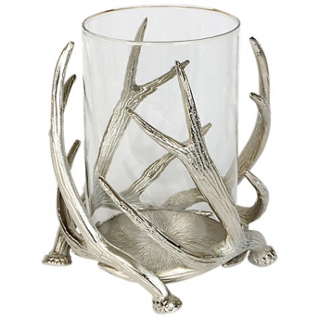 Culinary Concepts Stag Antler Hurricane Lamp
