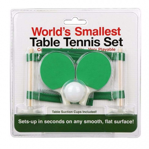 Funtime Worlds Smallest Table Tennis
