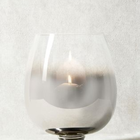 Next Collection Luxe Chrome Ombre Candle Holder
