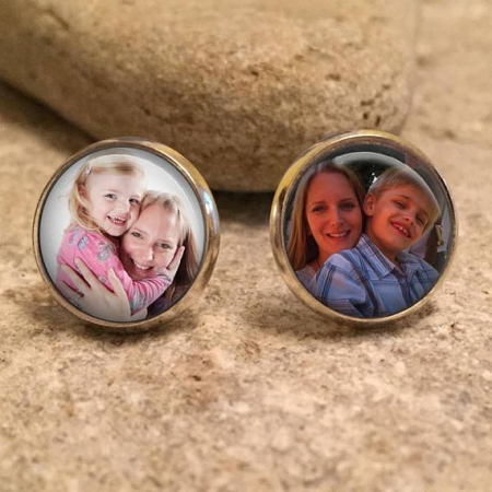 Personalized Jewelry Stud Earrings