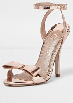 River Island Barely There Bow Sandal