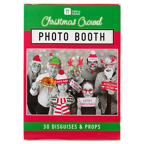 Talking Tables Christmas Photo Booth Kit