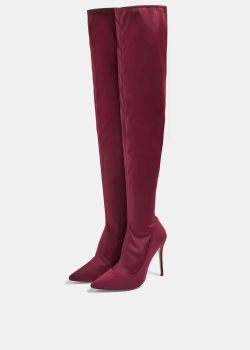 Topshop BELLINI Over The Knee Sock Boots