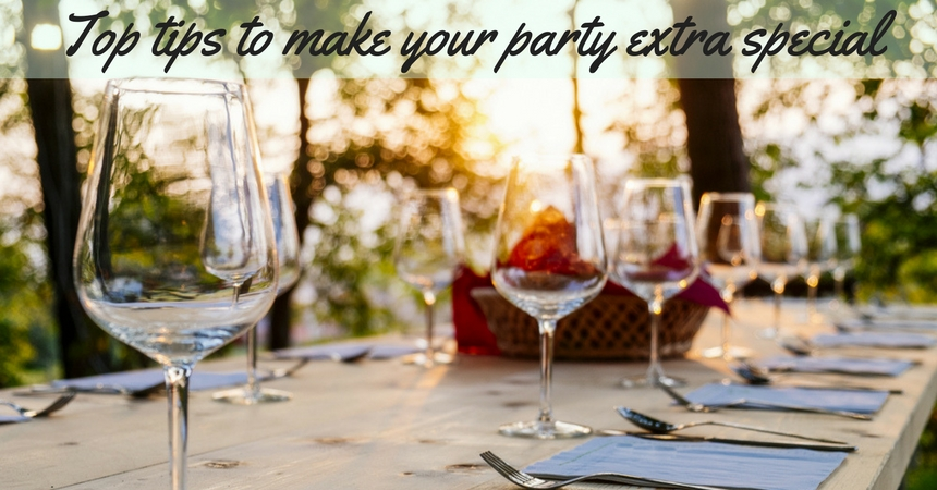 Tips To Take Your Next Special Party To The Next Level TheFuss.co.uk