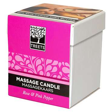 Treets Traditions Orchid And Pure Spa Massage Candle