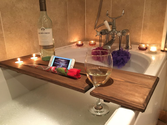 Relaxation Wooden Bath Board