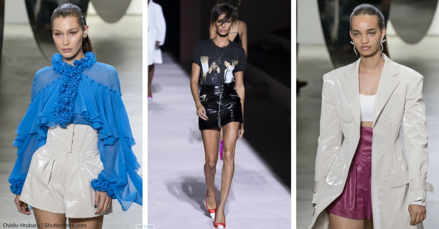 The Vinyl Trend On The Catwalk For SS18 TheFuss.co.uk