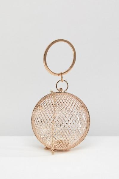 ASOS Cage Sphere Clutch Bag