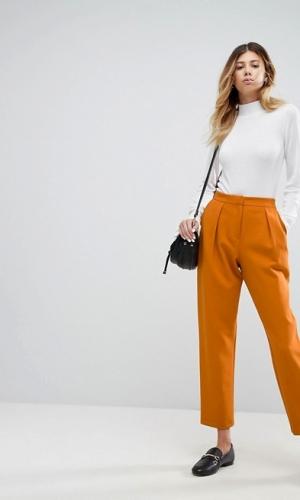 ASOS DESIGN Tailored Tapered Peg Trouser
