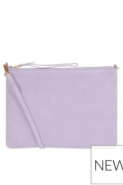 Accessorize Claudia Pastel Leather Crossbody Bag