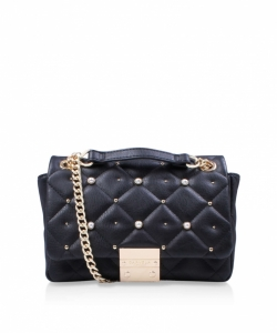 Carvela Sadie Quilted Bag Black