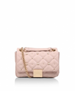 Carvela Sadie Quilted Bag Nude