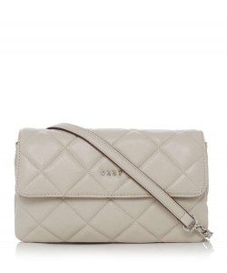DKNY Barbara Small Quilted Flap Cross Body Bag