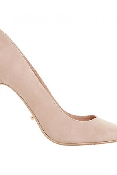 Dune Boston Ivy Embellished Stiletto Court Shoes