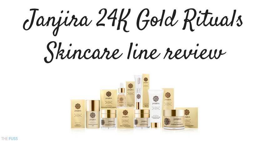 Janjira 24K Gold Rituals Skincare Line Review