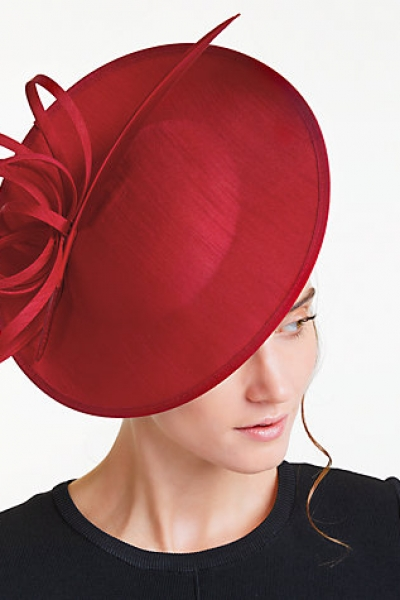 John Lewis Erin 2 Disc Feather Quill Occasion Hat