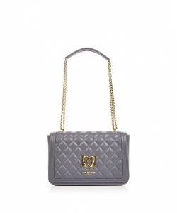 LOVE MOSCHINO Quilted Logo Shoulder Bag