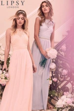 Lipsy Jasmine Jewel Waist Maxi Dress
