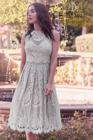 Lipsy VIP Embroidered Lace Midi Dress 2