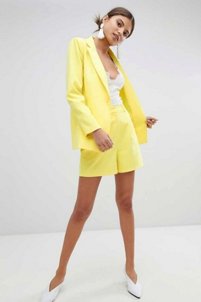 Missguided Tailored Blazer & Shorts Co Ord