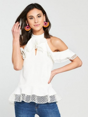 River Island Frill Top River Island
