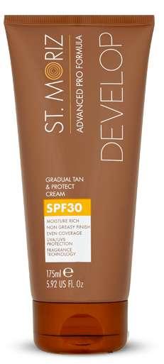 St Moriz Advanced Pro Gradual Tan And Protect Cream