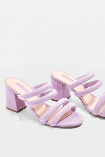 Topshop Nicky Four Strap Mules