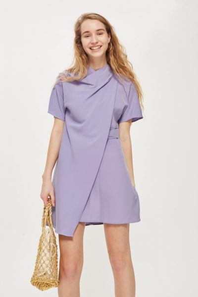Topshop PETITE Origami Dress