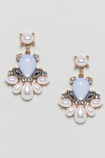 True Decadence Pearl Statement Earrings