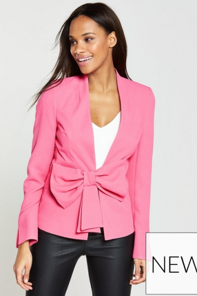 V By Very Statement Bow Jacket
