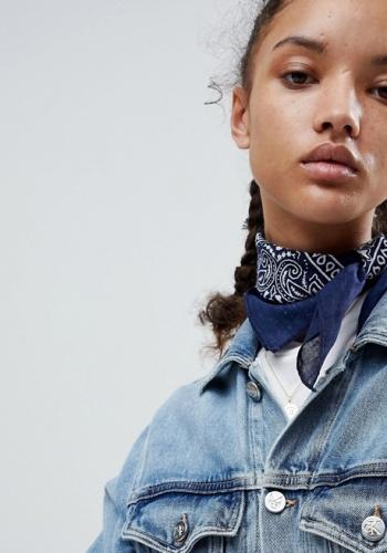 ASOS Paisley Bandana Print Neckerchief Headscarf