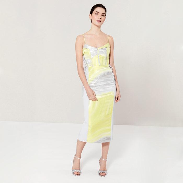 Coast Amor Jacquard Dress