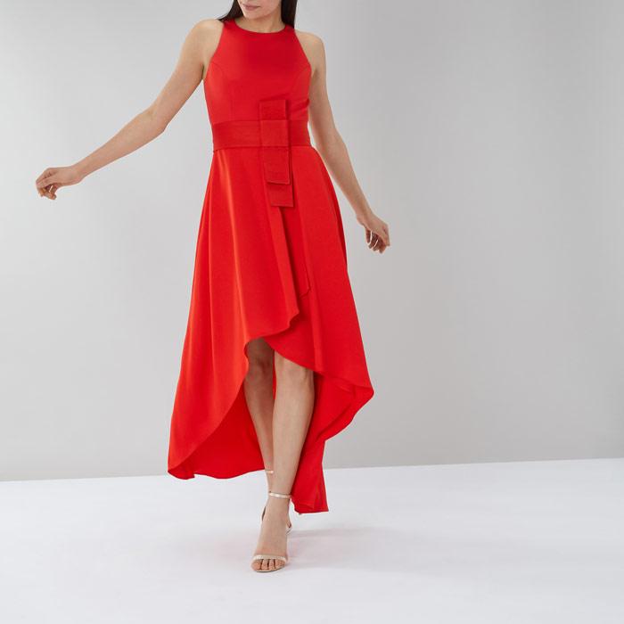 Coast April Belted Midi Dress