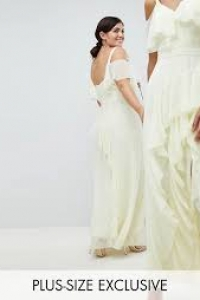 Coast Plus Illy Ruffle Maxi Dress