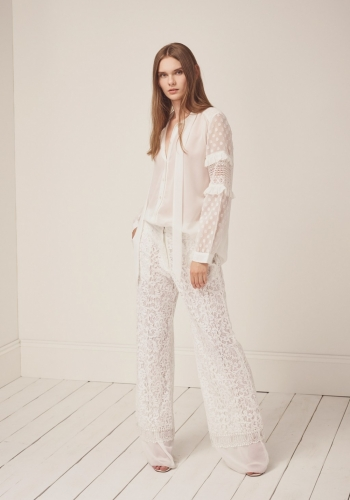 French Connection ARTA LACE LAYER TROUSERS