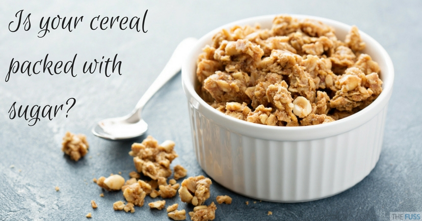 Is your 'healthy' cereal packed with sugar? TheFuss.co.uk