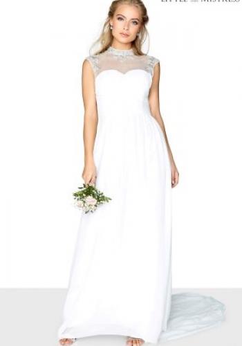 Little Mistress Embellished Bridal Maxi Dress