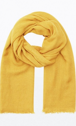 New Look Yellow Plain Scarf