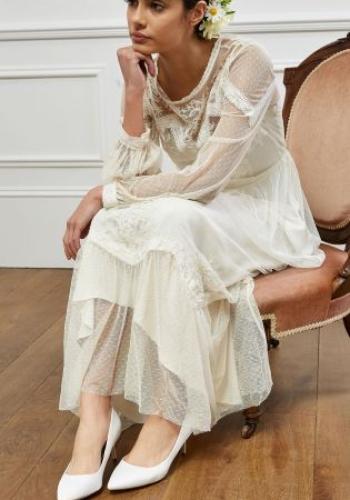 Next Ivory Vintage Lace Bridal Dress