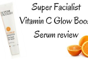 Super Facialist Vitamin C Glow Boost Serum Review TheFuss.co.uk