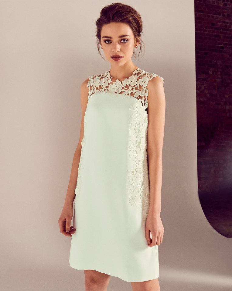 Ted Baker Applique Lace Tunic Dress