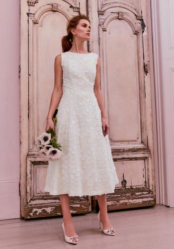 Ted Baker Lace Applique Midi Dress