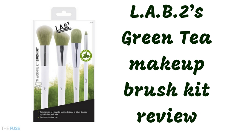 L A B2's Green Tea Infused Makeup Brush Review