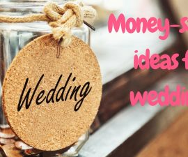 Money Saving Ideas For Weddings