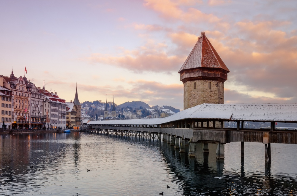 Lucerne, one of the must-see destinations in Europe