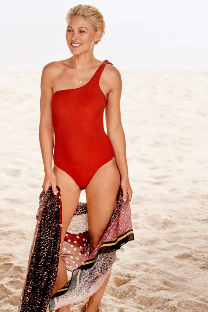 Emma Willis Next Red Swimsuit