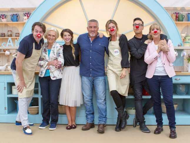 Celebrity British Bake Off Comic Relief