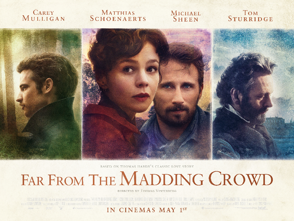 Far From Madding Crowd film poster